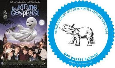 Kindermedienpreis 'Weißer Elefant, Filmplakat © Universum Film