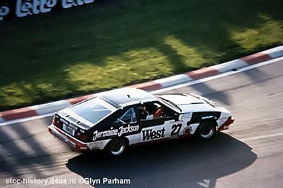 jermaine jackson 24h spa francorchamps 1985 sponsor pascal witmeur automobile art la tartine lasne soirée