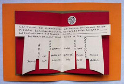 Antoine de Bary: Marie-Odile, 1973, Guy Schraenen éditeur artists' books Künstlerbücher livres d'artistes