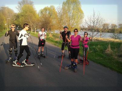 Abnehmen mit Diät und Skiken in Köln/Bonn Gesundheit Knieschonend Verein und Club