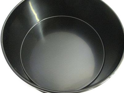 飯器の底 上塗り