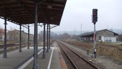 Neustadt in Sachsen - u.a. hier könnte bald kein Zug mehr fahren