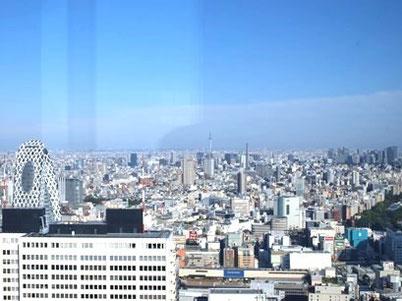 新宿都庁から