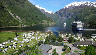 Geiranger norwegen blog