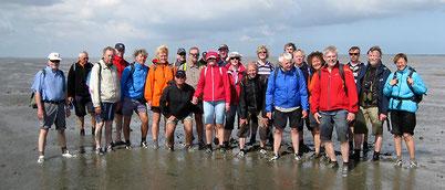 Studienausflüge ins Wattenmeer gehören in manchen Seminaren dazu.