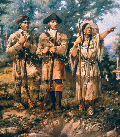 Meriwether Lewis & William Clark