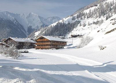 Gannerhof im Winter