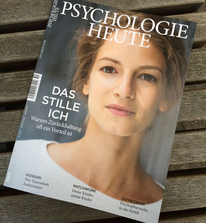 """""""Die Tattoo-Therapie"""" Artikel in der """"Psychologie heute"""" in der Oktoberausgabe"""