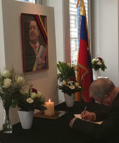 Condolencia en Alemania