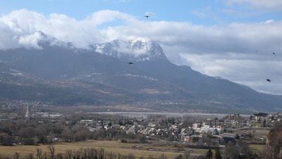 Paysage, landscape, Grand Morgon, montagnes, Hautes Alpes, Embrun