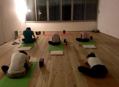 水曜夜のrock'N'yoga@K YOGA表参道