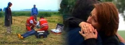 Alina und Vladi kommen bei einem Autounfall ums Leben