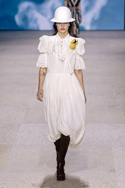 Credit. Dalla sfilata primavera estate 2020 di Louis Vuitton.