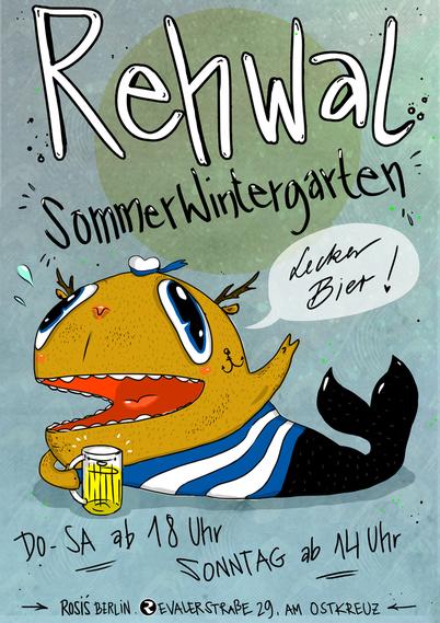 Rosis Berlin, Rehwal Biergarten 2015