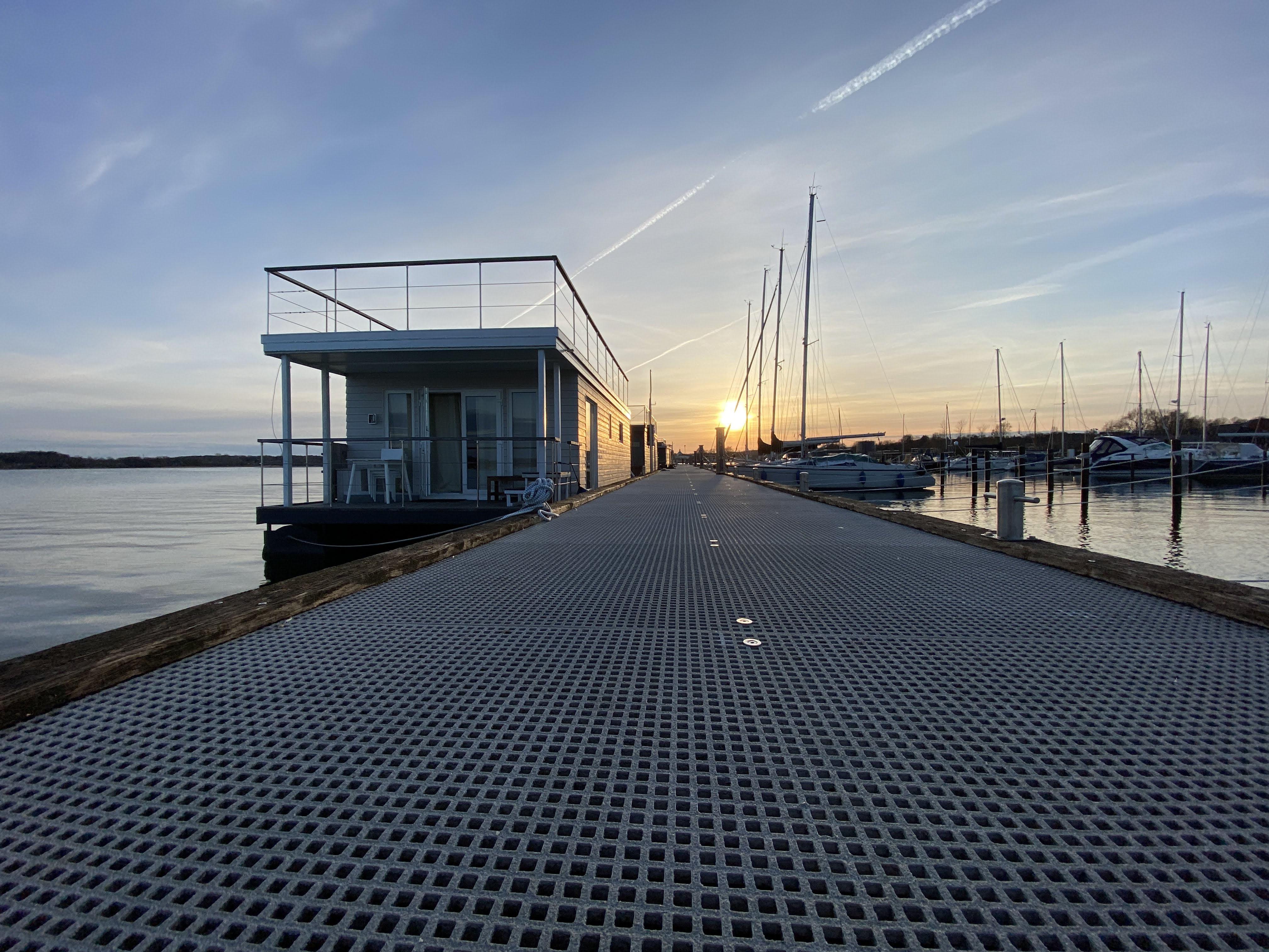 Koje Kalle - Hausboot in Heiligenhafen