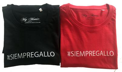 #siempregallo #my monic #camisetas de swarovski #logos para empresas #camisetas con logo #el gallo de los 40