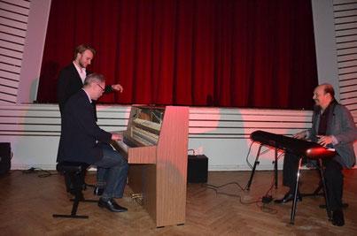Henning Pertiet und Fabian Fritz ließen mich in Bremen mitjammen, war eine große Freude!