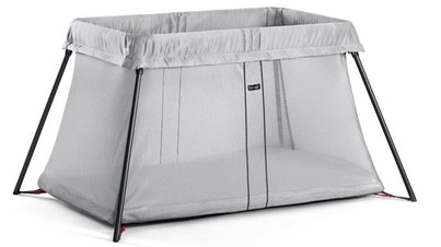 The Baby Bjorn Travel Crib is one of the best baby travel cribs