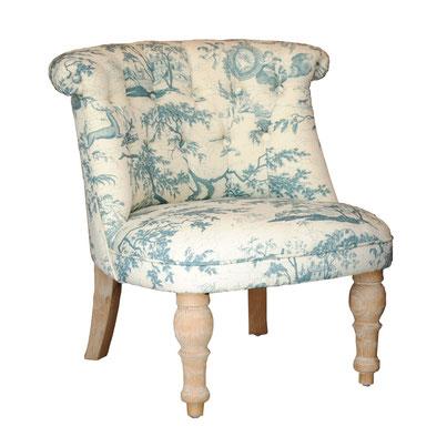 一人掛け ボヌールチェア 椅子 toile トワレ チェア エンジェル ソファ ラムズゲイトチェア オシャレ クラシック シャビーシック ブルー
