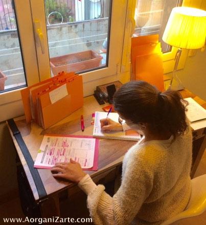 Escribe todas las tareas pendientes -AorganiZarte.com