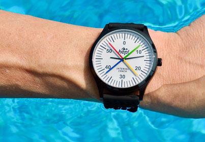 hep! INTERVAL COACH - DIE Schwimmtrainingsuhr