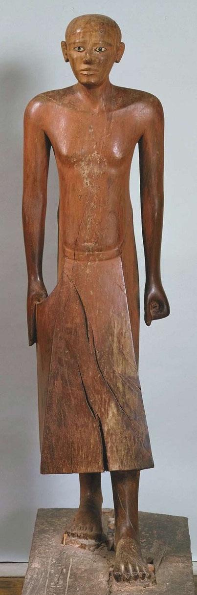 Grande Statue de Nakhti