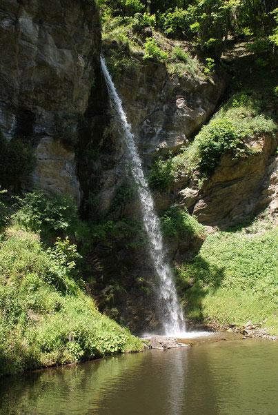 Der 2. von drei Wasserfällen