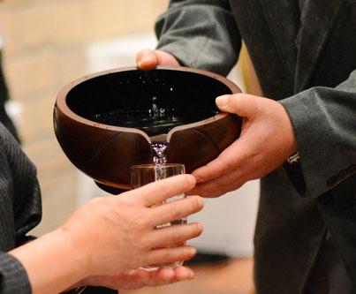 鎌倉漆工房いいざさ|酔いの器 一升片口