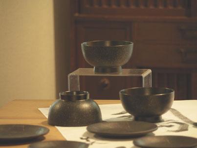 鎌倉彫 ぐい呑み