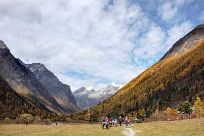 Mount Siguniang Sichuan China, Reiseblog Edeltrips