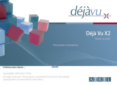Deja Vu, tool used by Jiang Yu, NAATI certified English-Chinese/Mandarin translator/interpreter