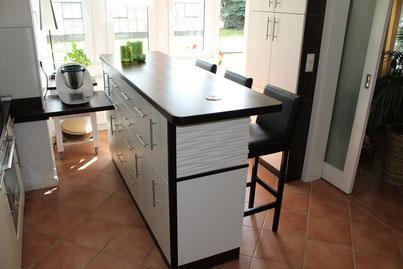 Küche Tresen Möbel Schrank Licht Bartresen