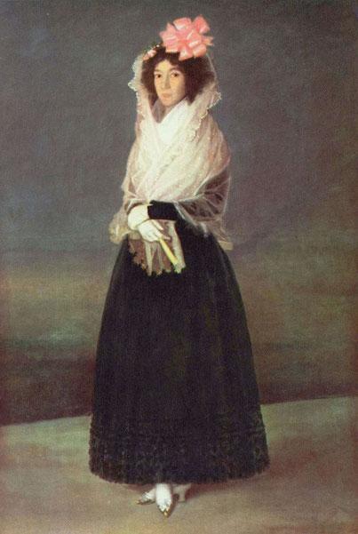 Портрет графини дель Карпио, маркизы Ла Солана - Франсиско Гойя