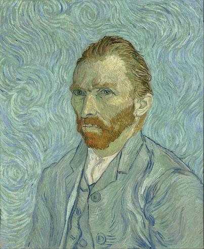 Автопортрет (1889) - Винсент Ван Гог