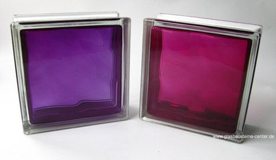 BRILLY MATTY Violet Ruby Glasbaustein Glasstein Glasbausteine-center.de glasbausteine-center Glasbausteine Glassteine Glass Blocks Clear Glasdallen glazen blokken Briques de verre Lasitiilet Glasblock Lasi Tiili Colorés à teintes vives solaris rubino