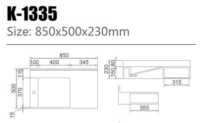 Waschtisch K-1335