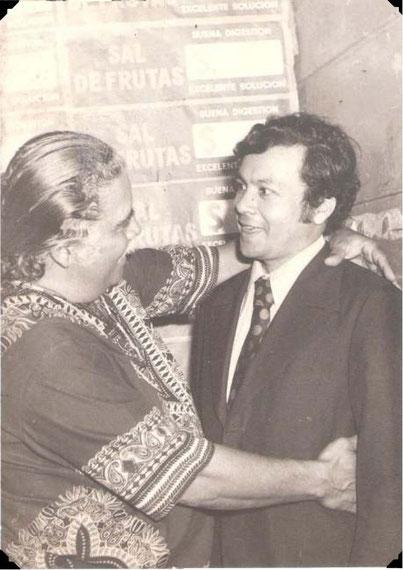 Daniel Santos en Palmira, con Sady Rojas - 1971.