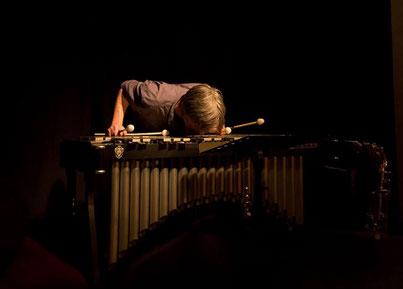 Vibraphone als Blasinstrument