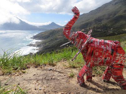 Upcycling Dekoration kaufen, Geschenkidee, Dekor Elefant