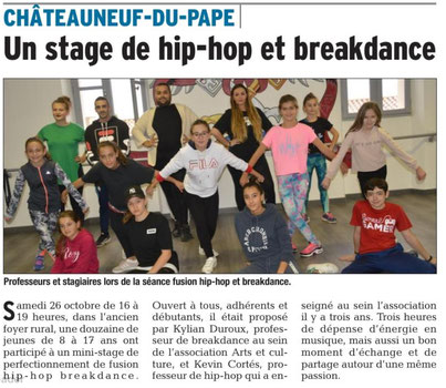 hip hop chateauneuf du pape. ass arts et culture