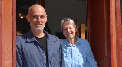 Gerald Jöbstl und Brigitte Iwin