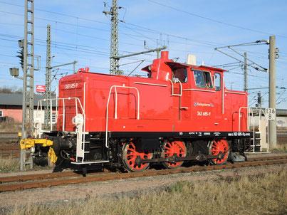 Lokomotive Baureihe 362/363 Railsystems RP GmbH