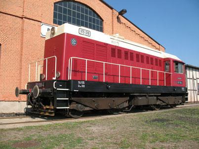 Lokomotive Baureihe 107 Railsystems RP GmbH