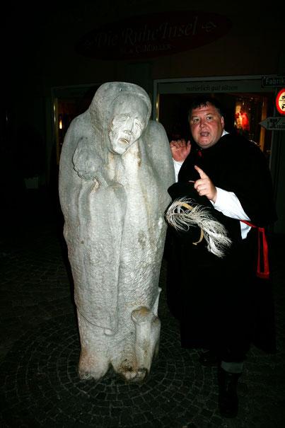 """Der Hüüler, des Nachtwächters """"alter ego"""" ( Bild: Gerhard Auhagen, Rheine )"""