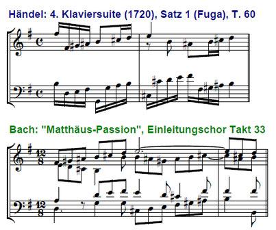 Bach und Händel | Bach and Handel