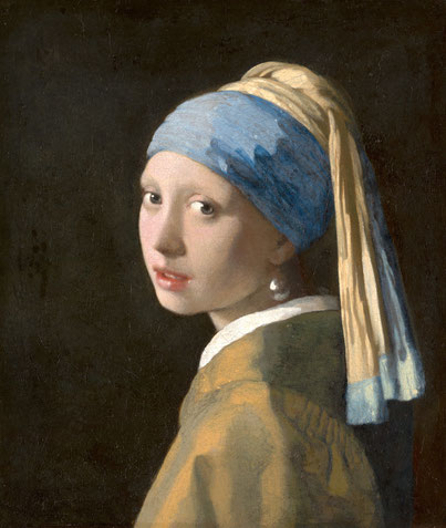 Das Mädchen mit dem Perlenohrgehänge Vermeer