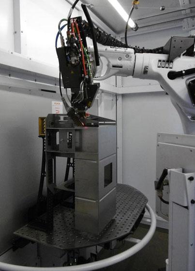 Laserschweißen Serienbauteil