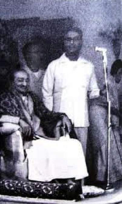 Last picture taken of Meher Baba