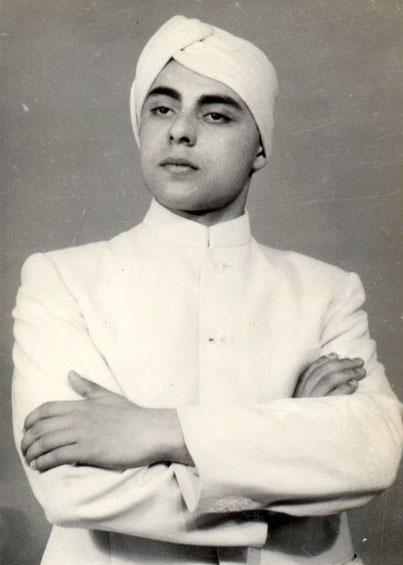 Young man Naosherwan Anzar