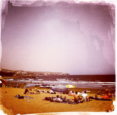 Retro Urlaubserinnerungen: Gran Canaria Beach Playa del Ingles | Hot Port Life & Style | Lifestyle Blog